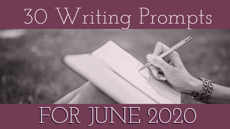 30 Writing Prompts For April 2020