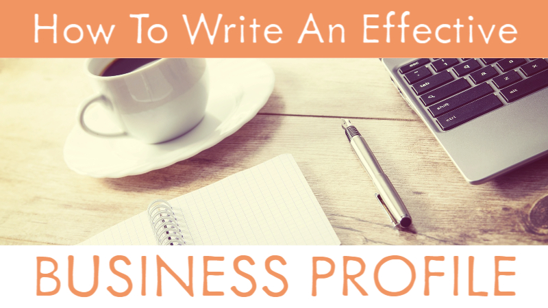 How To Write An Effective Business Profile