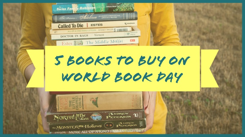 5 Books I Think You Should Buy On World Book Day