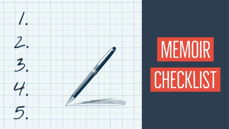 The Memoirist's Checklist