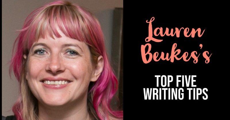 Lauren Beukes's Top 5 Writing Tips