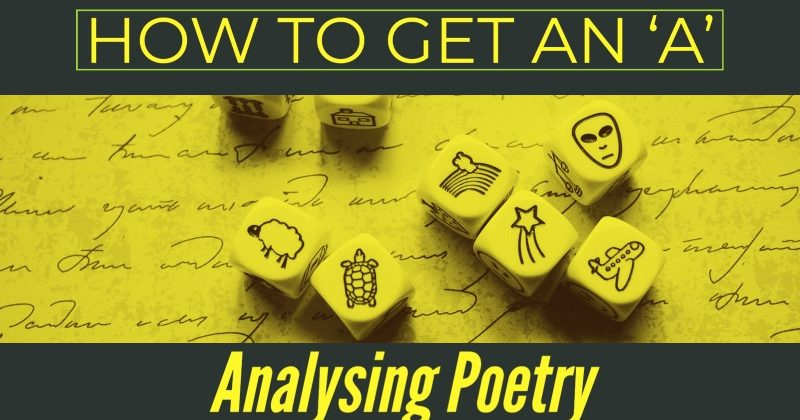 How To Get An 'A' Analysing Poetry